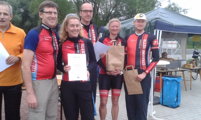 Siegerehrung Mixed Teams